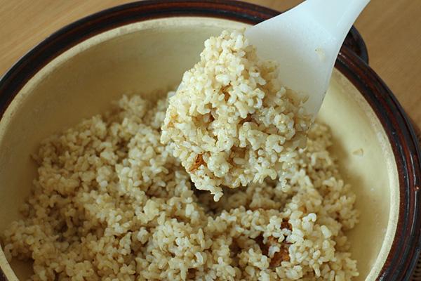 ミナミニシキ玄米ご飯