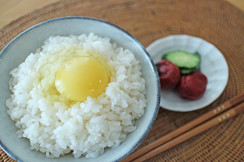 ミナミニシキ卵かけご飯