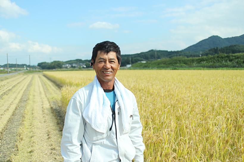 前田自然栽培米ミナミニシキを育てる前田英之