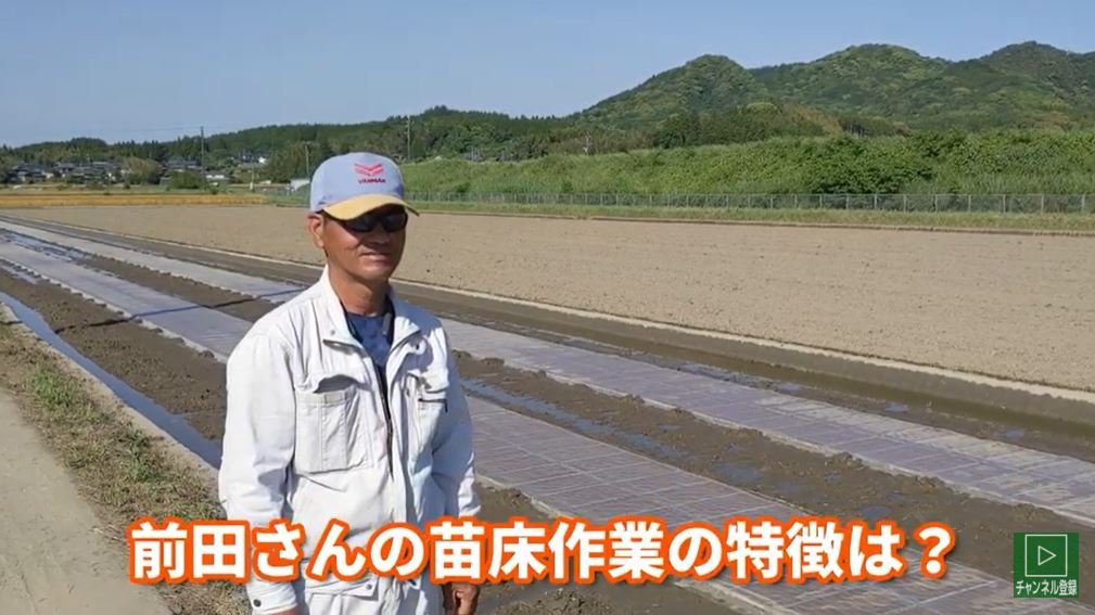自然栽培米ミナミニシキ動画