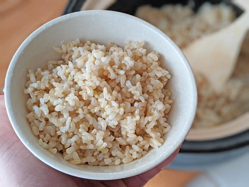 発芽玄米ご飯