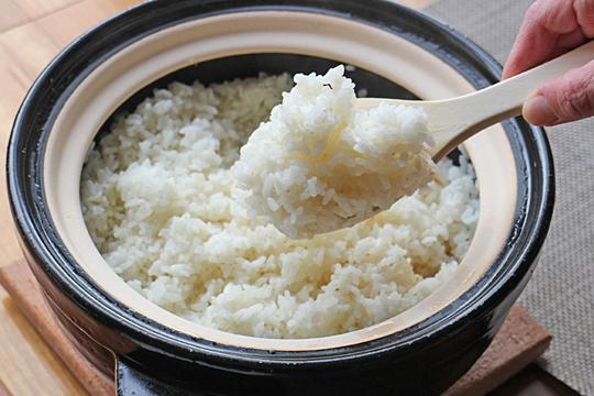 ミナミニシキ土鍋ご飯
